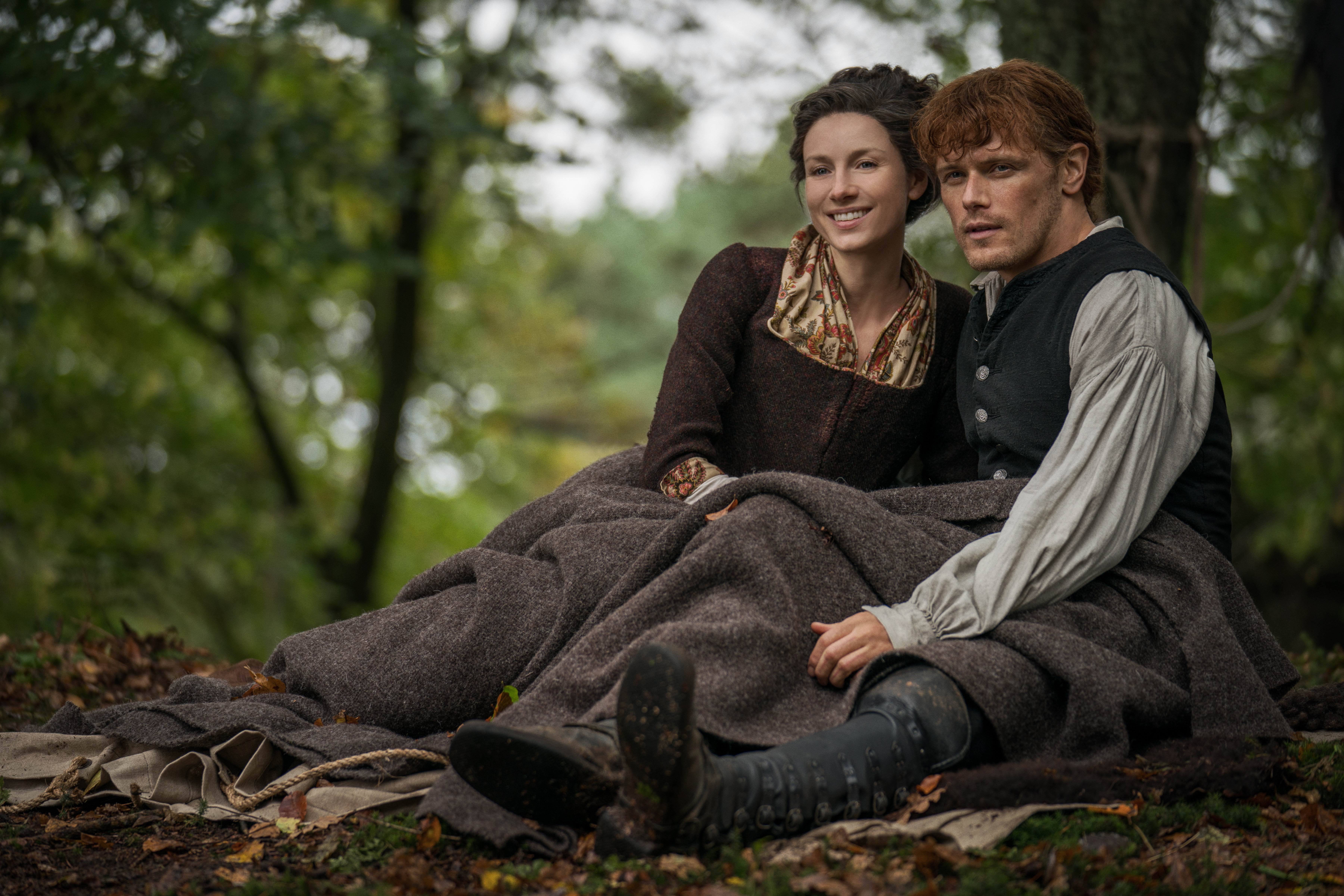 Outlander stars Caitriona Balfe and Sam Heughan will be attending the Scottish BAFTAs this weekend.