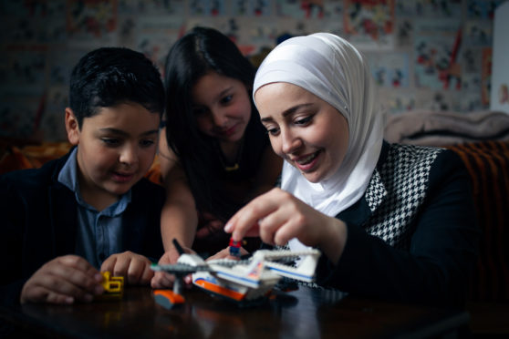 Rana, Feras and Sara have built a new life in Hamilton after leaving war-torn Syria three years ago
