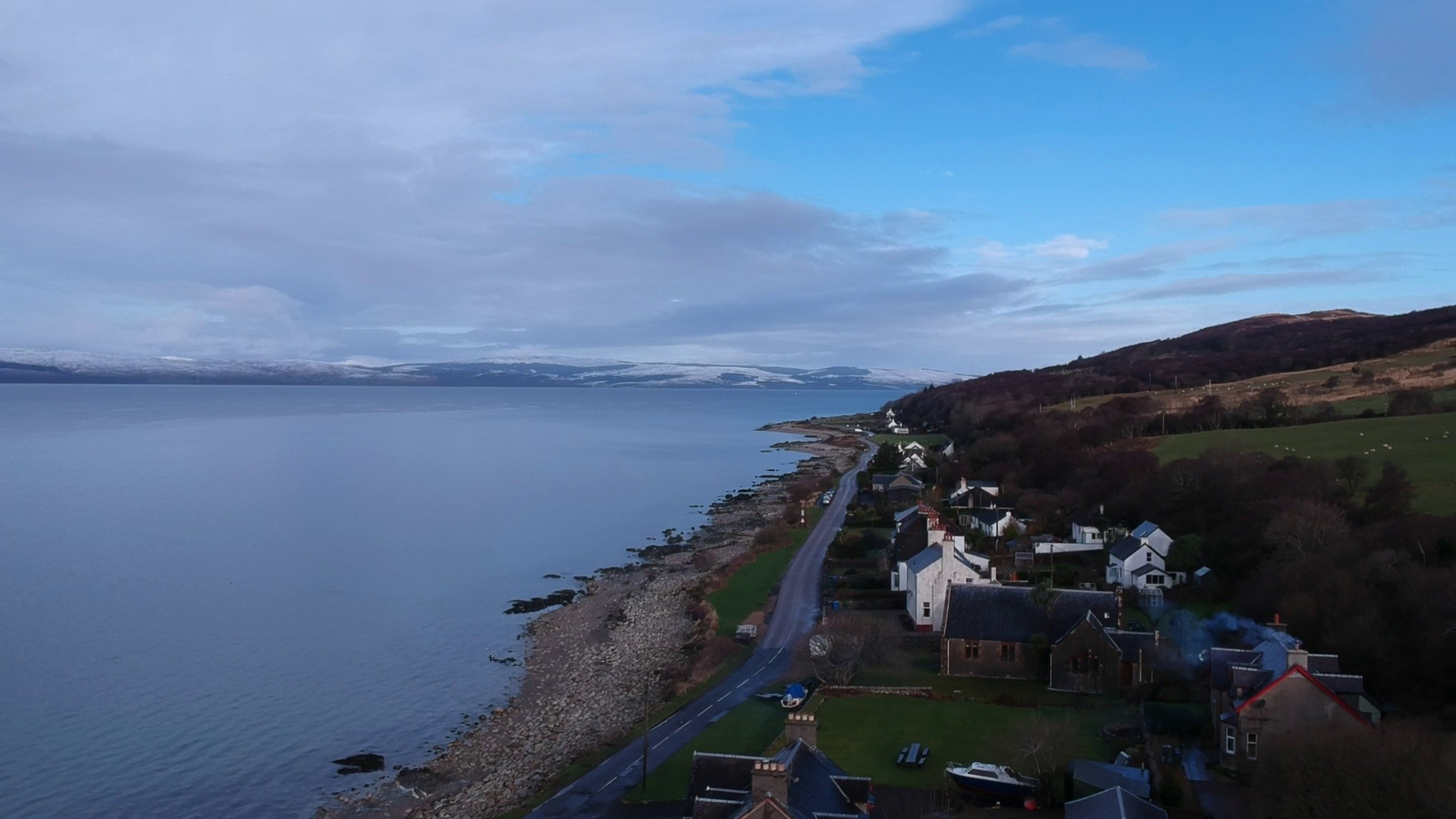 Pirnmill, in the north west of the Isle of Arran.