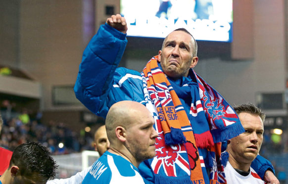 "Fernando Ricksen has called for fans to turn out for his ""final night"""