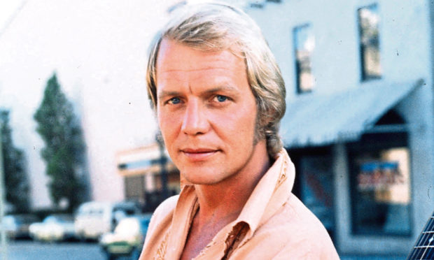 David Soul pictured in 1974