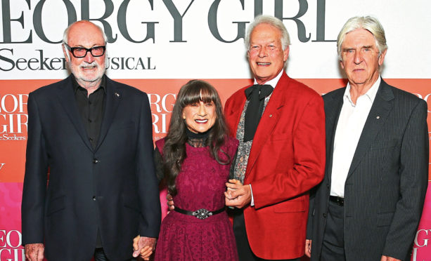 Athol Guy, Judith Durham, Keith Potger and Bruce Woodley of The Seekers in 2016