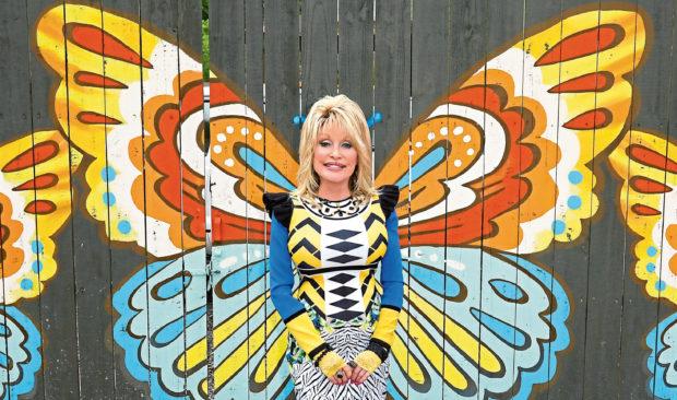 Dolly Parton at Dollywood.