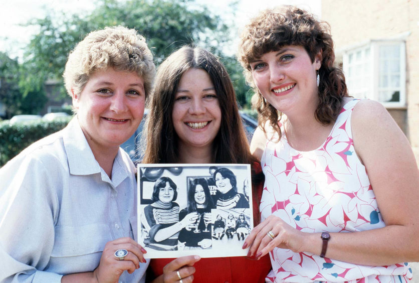 The trio aged 28 in 1985. Sadly Lynn was the first of the 7 Up children to die after she passed away in May 2013