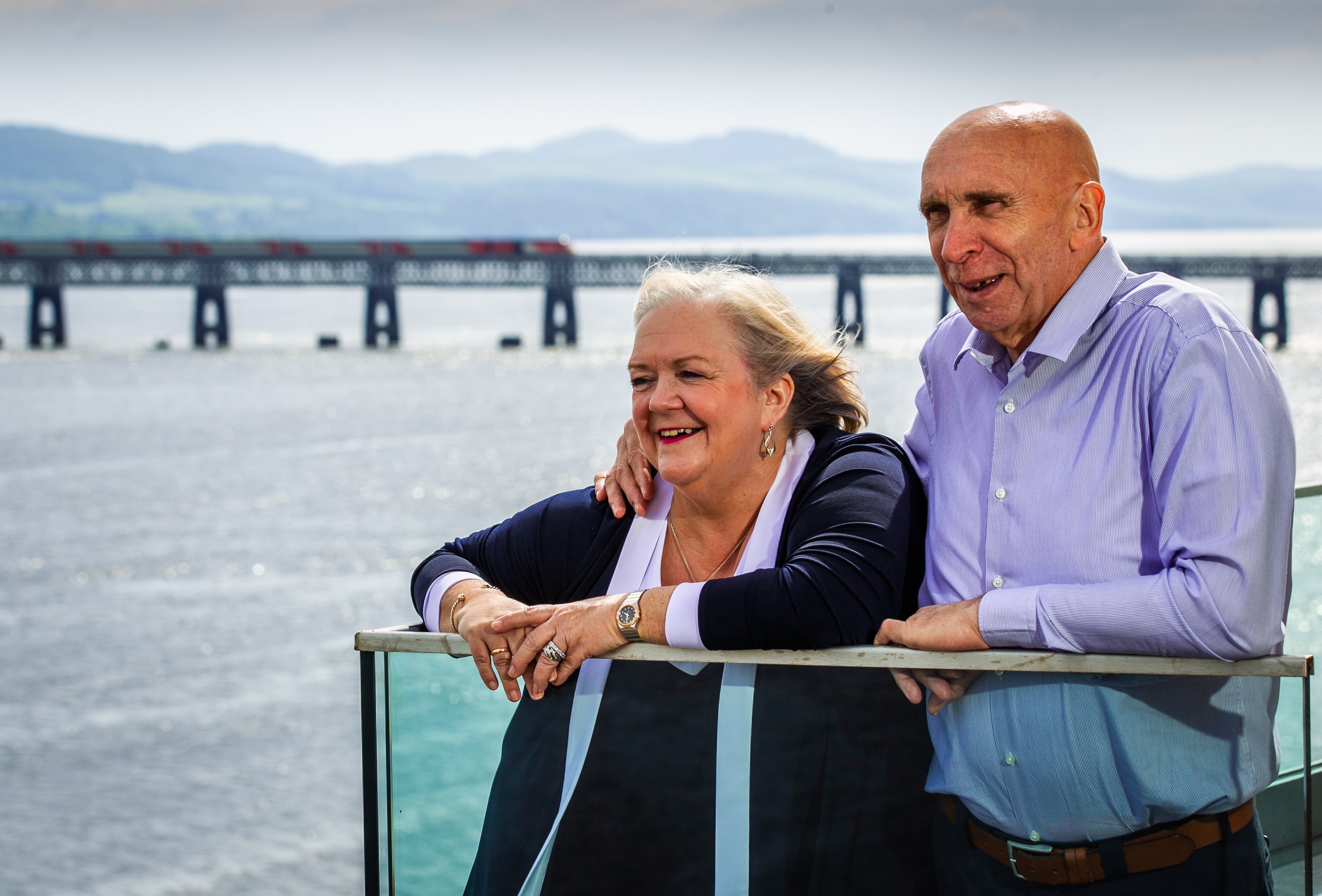Fred and Lesley Higgins