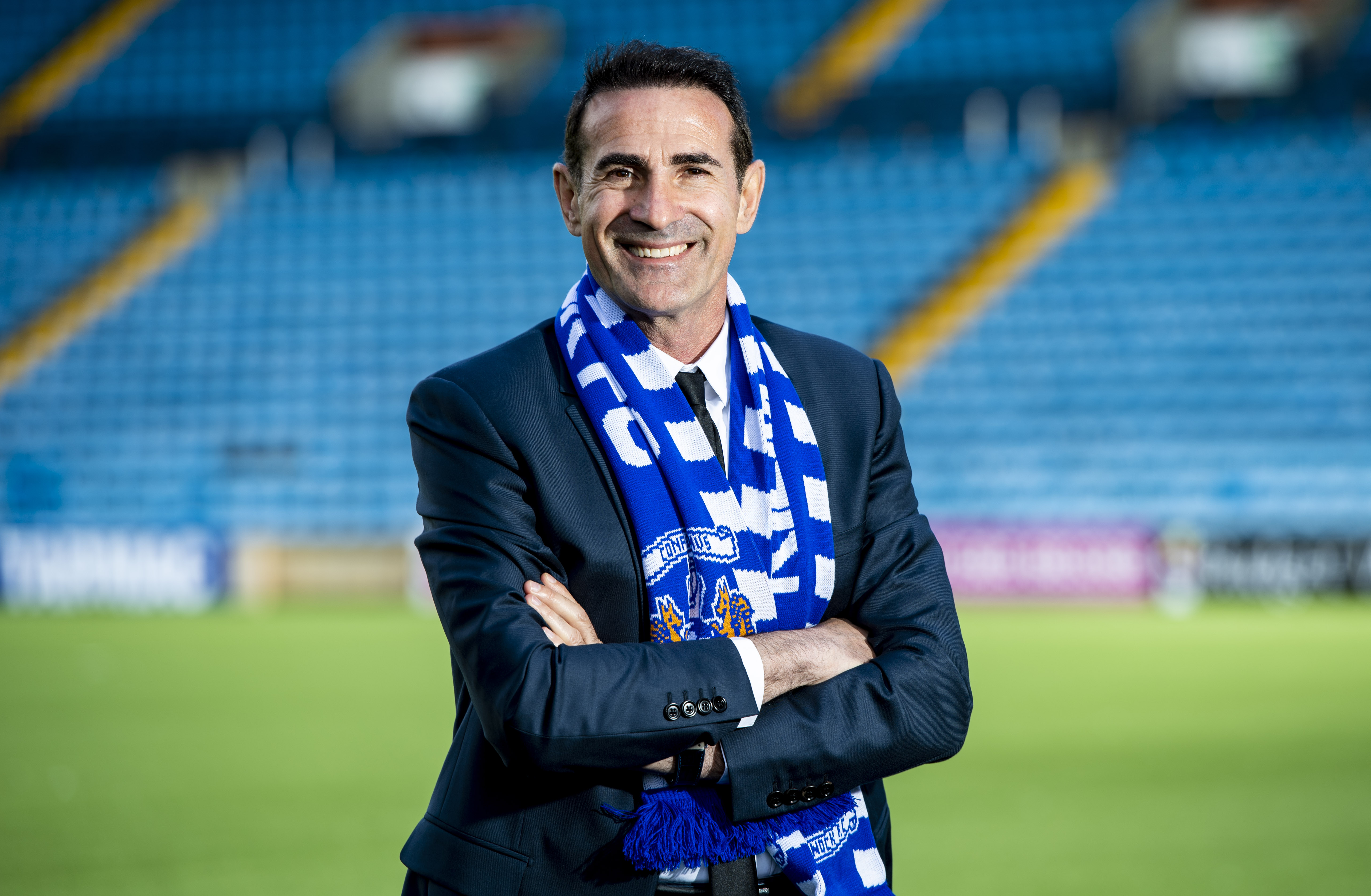 Angelo Alessio is unveiled as the new manager of Kilmarnock