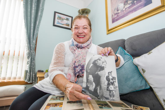 Anne Fraser Reed, 71 from Inverness joined the circus at 15 and a half.