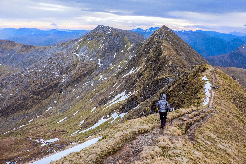 The Devil's Ridge, Mamores, Scotland