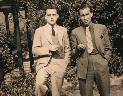 Herbert Lom and Walter Bor