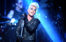 Pink on stage