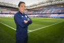 Scotland's Rachel Corsie ahead of kick off against England tomorrow in Nice.