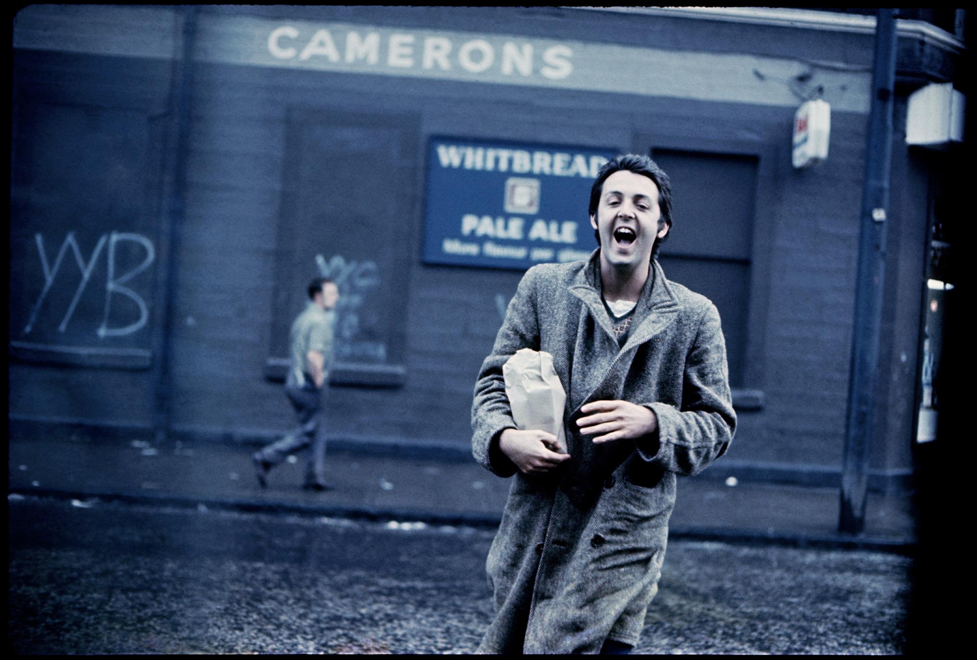 Paul McCartney, Glasgow, 1970 and © Paul McCartney / Photographer: Linda McCartney.