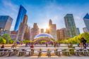 The Cloud Gate in Chicago's Millennium Park
