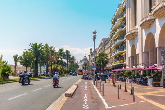 Promenade des Anglai in Nice