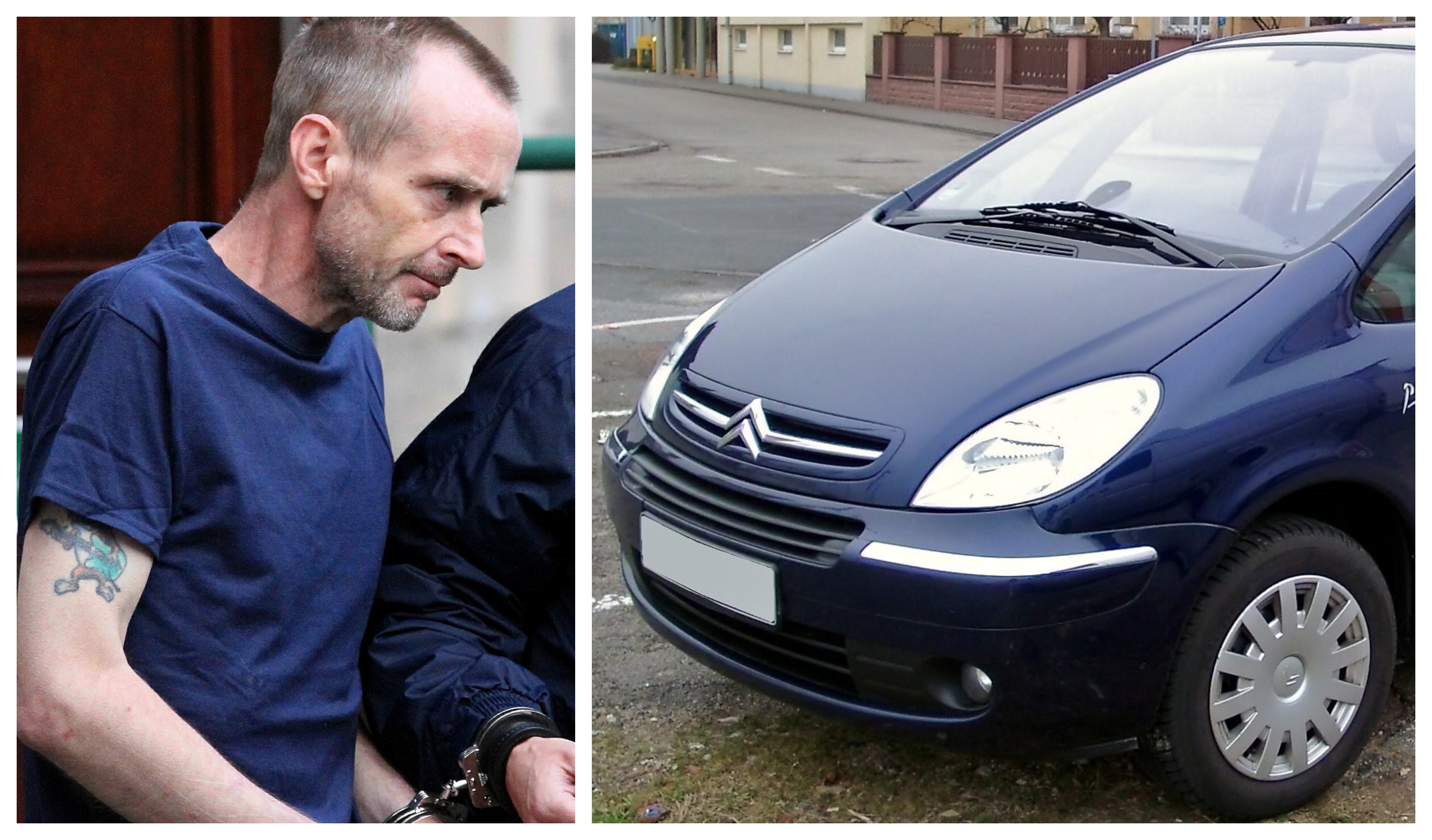 Notorious killer Steven Jackson attacked an escort officer who was driving a Citroen Picasso, similar to the car pictured