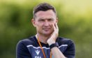 Hibernian head coach Paul Heckingbottom