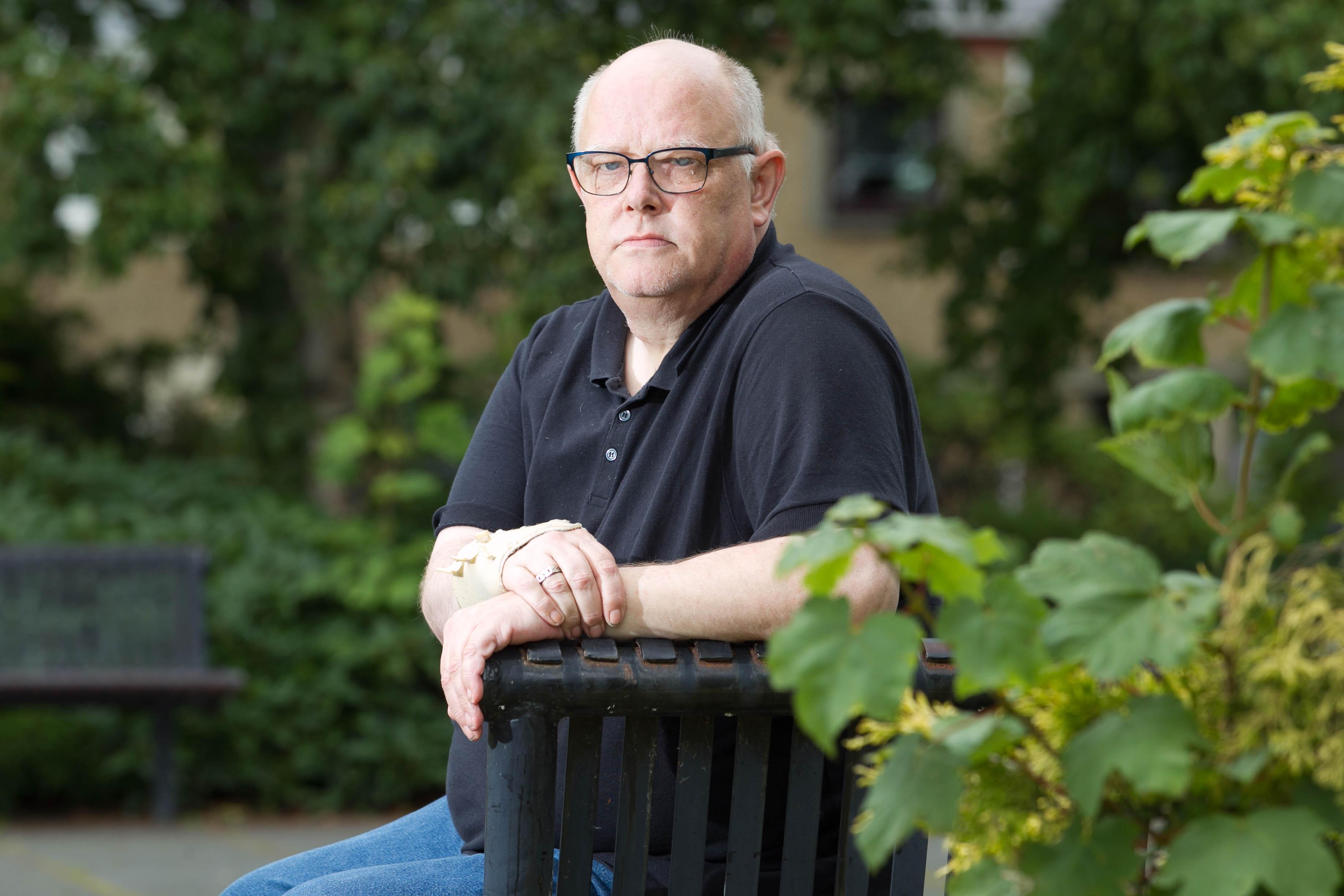 Gordon Yuill, whose son John was killed in the crash