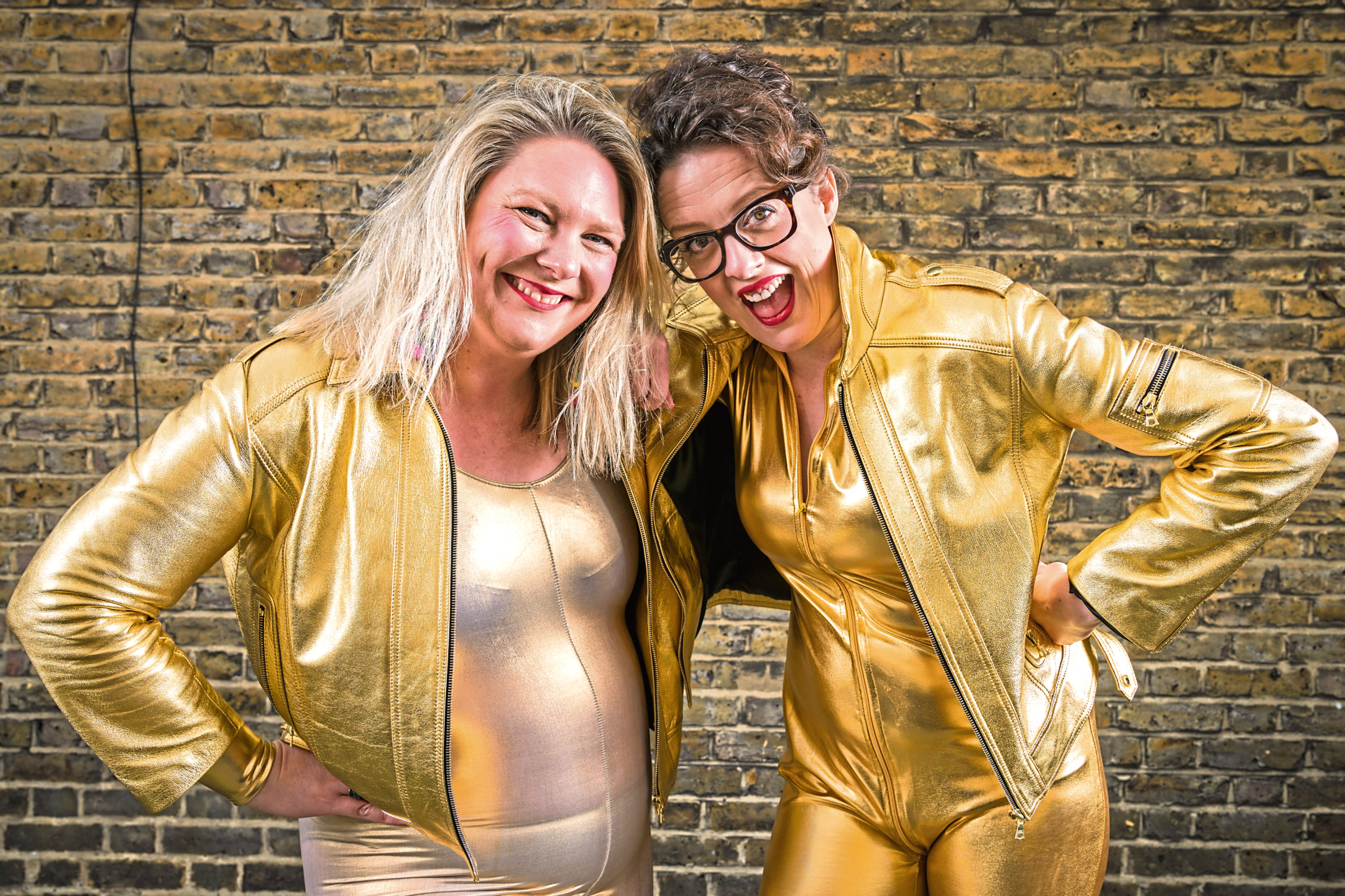 Ellie Gibson (right) and Helen Thorn, The Scummy Mummies