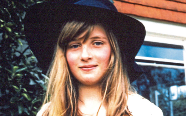 Lady Diana Spencer at Itchenor, West Sussex during the summer of 1970.