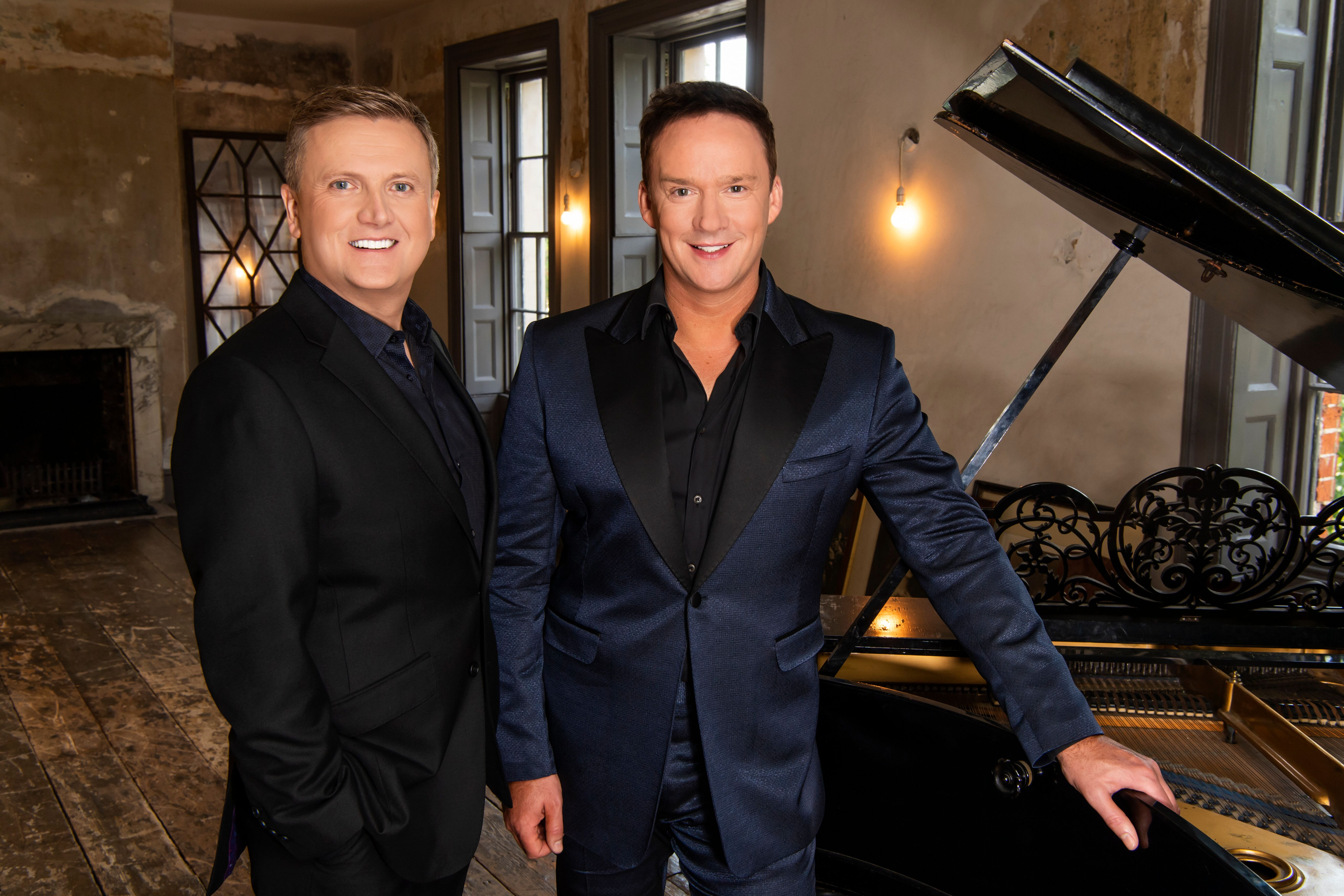 Aled Jones and Russell Watson return to Glasgow.