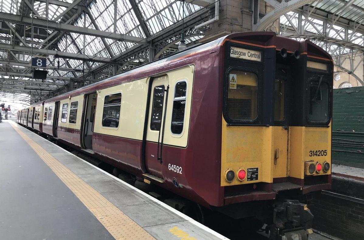 A class 314 train