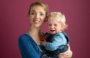 Tara Newton-Wordsworth with son Charlie