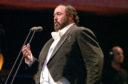 Italian opera singer Luciano Pavarotti