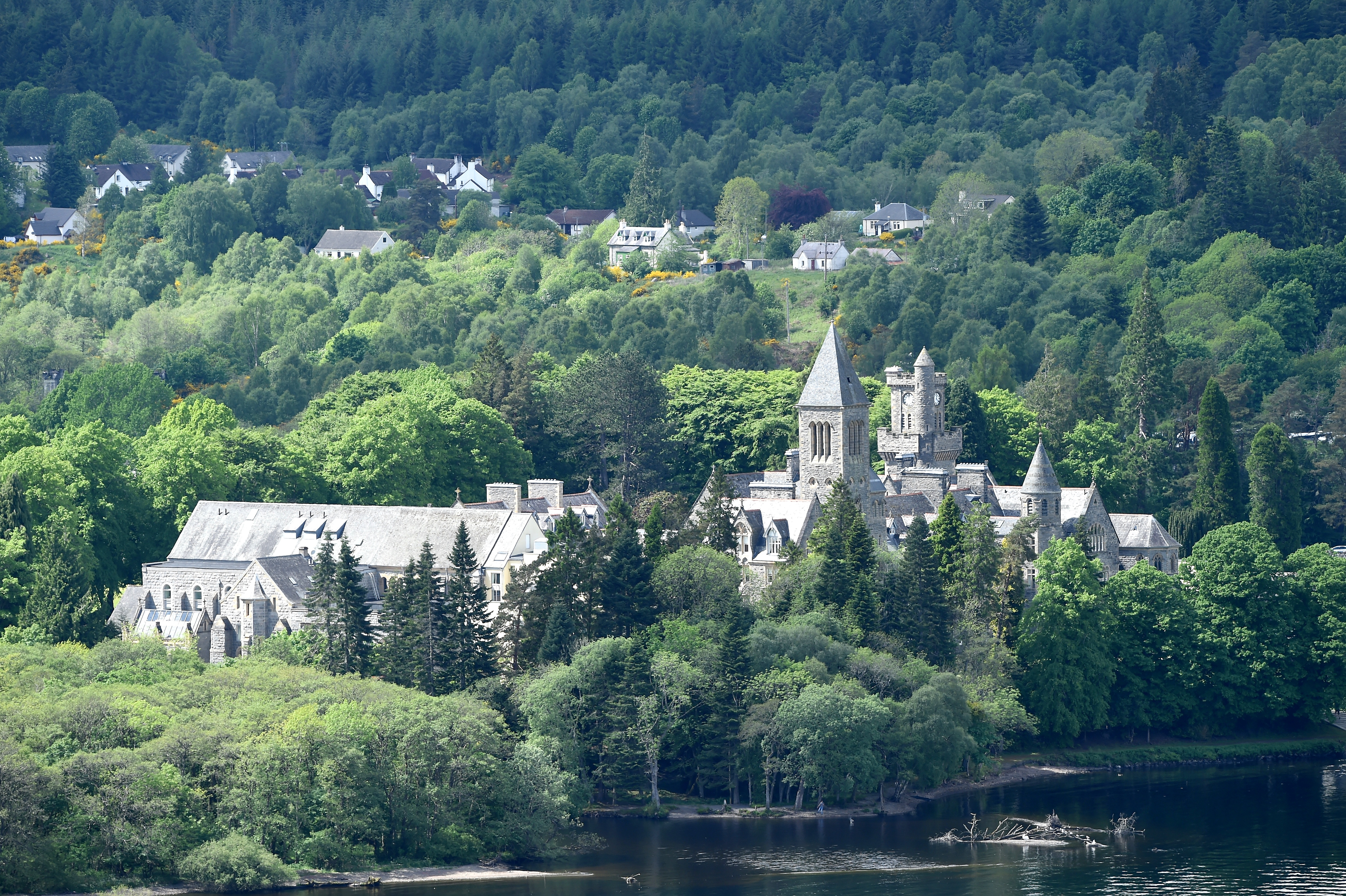 The former Fort Augustus Abbey School is at the centre of allegations