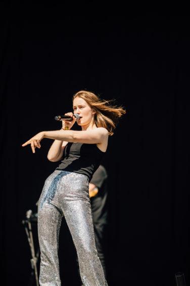 Sigrid on stage