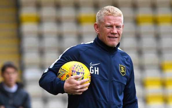 Livingston manager Gary Holt