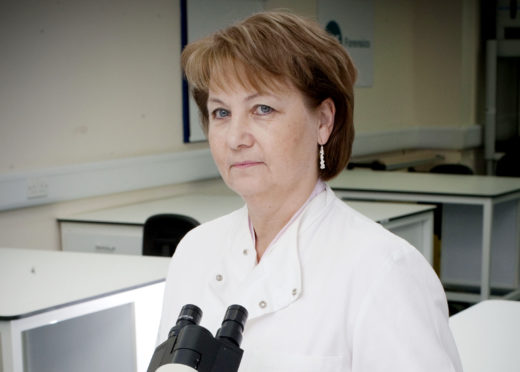 Professor Angela Gallop Chief Execuitve of Axiom International.