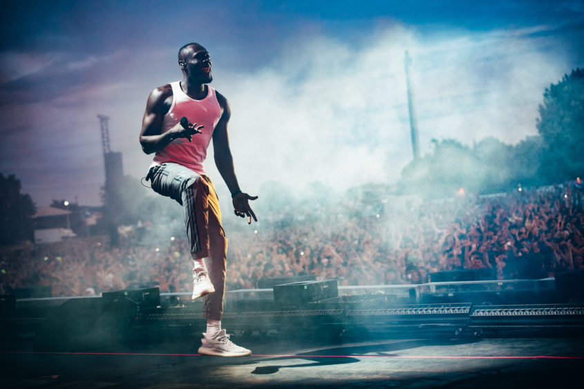 Stormzy wows the crowd