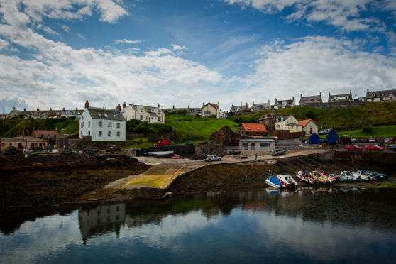 St Abbs offers ramblers en route to Berwick respite in a pretty setting
