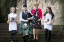 First Minister Nicola Sturgeon was joined by youngsters from the 6VT Edinburgh Youth Cafe to launch the book 'Best For Bessie'