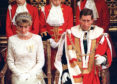 The Prince and Princess of Wales attend the State opening of Parliament