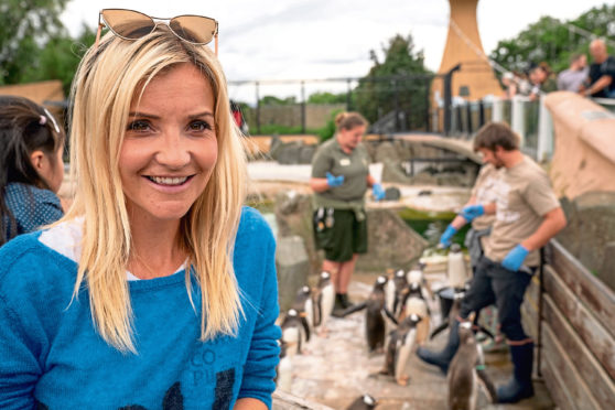 Animal-lover Helen Skelton would love to run a donkey sanctuary one day