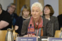 GSA chair Muriel Gray gives evidence to MSPs' committee last year