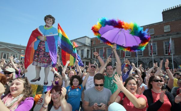 Campaigners in Ireland await result of assemblies' same-sex marriage referendum