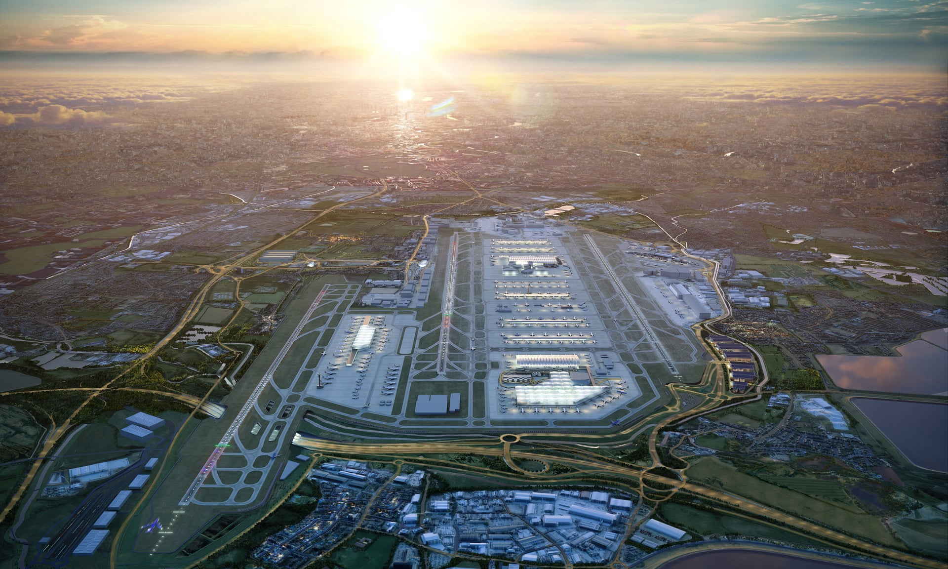 Heathrow third runway plans