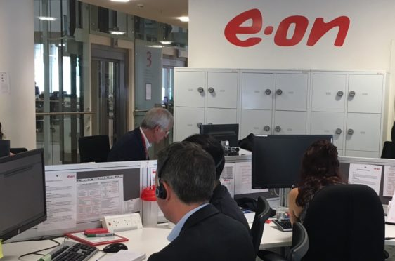 E.ON defended the shocked pensioner and credited her account with £6