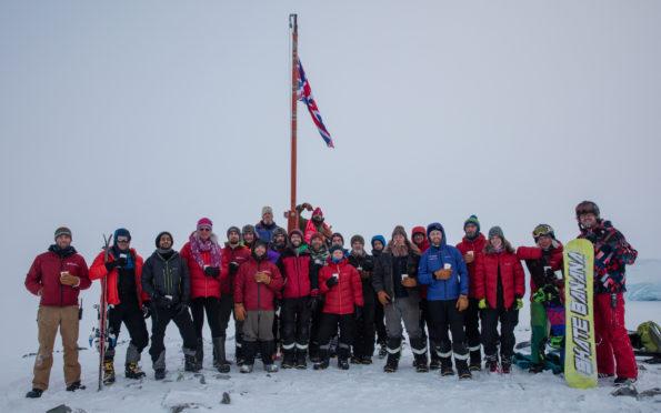 The Rothera British Arctic Station.