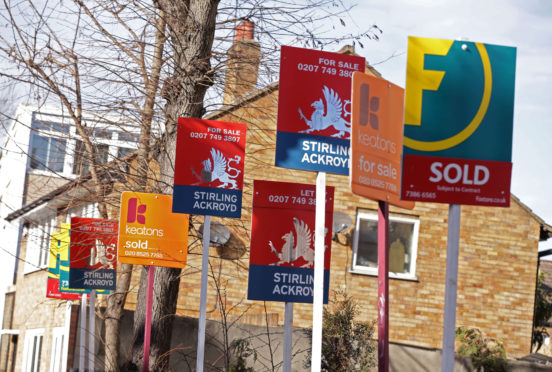 """The """"seemingly never-ending Brexit saga"""" continues to cast a shadow over the housing market, with flat demand from buyers and sales expectations weakening, according to surveyors."""