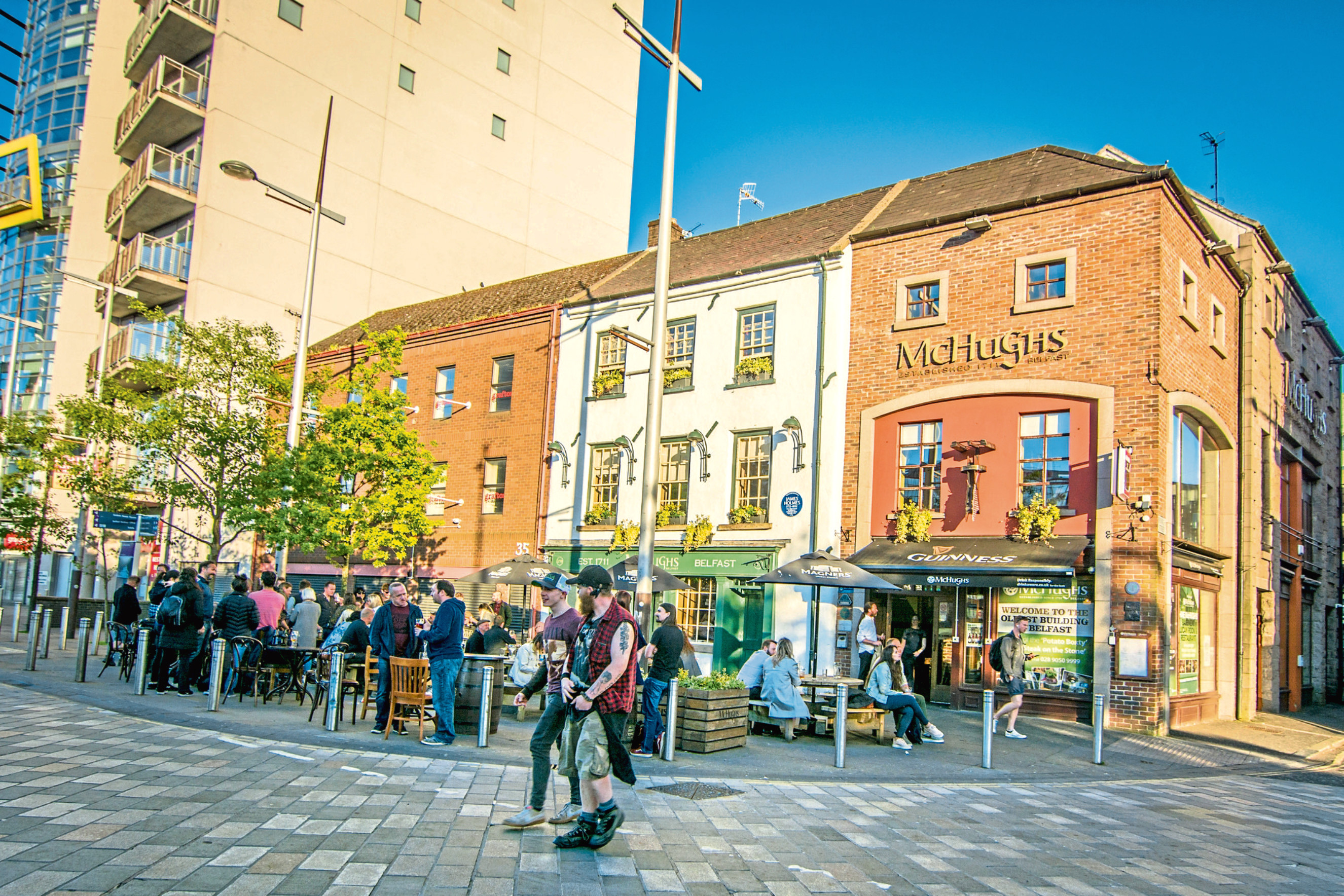 A stay in Belfast is not complete without a visit to the city's Cathedral Quarter