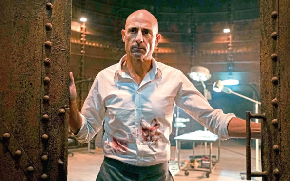 Mark Strong as Daniel Milton in Temple
