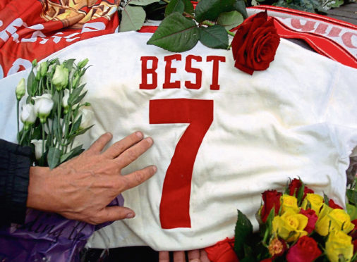 Tributes to George Best following his death
