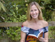 Angela Proctor, also known as AH Proctor, the author of the Thumble Tumble books, is pictured on the Isle of Arran.