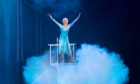 Olivia Oltmanns as Elsa in Disney On Ice, which begins a run in Glasgow this week