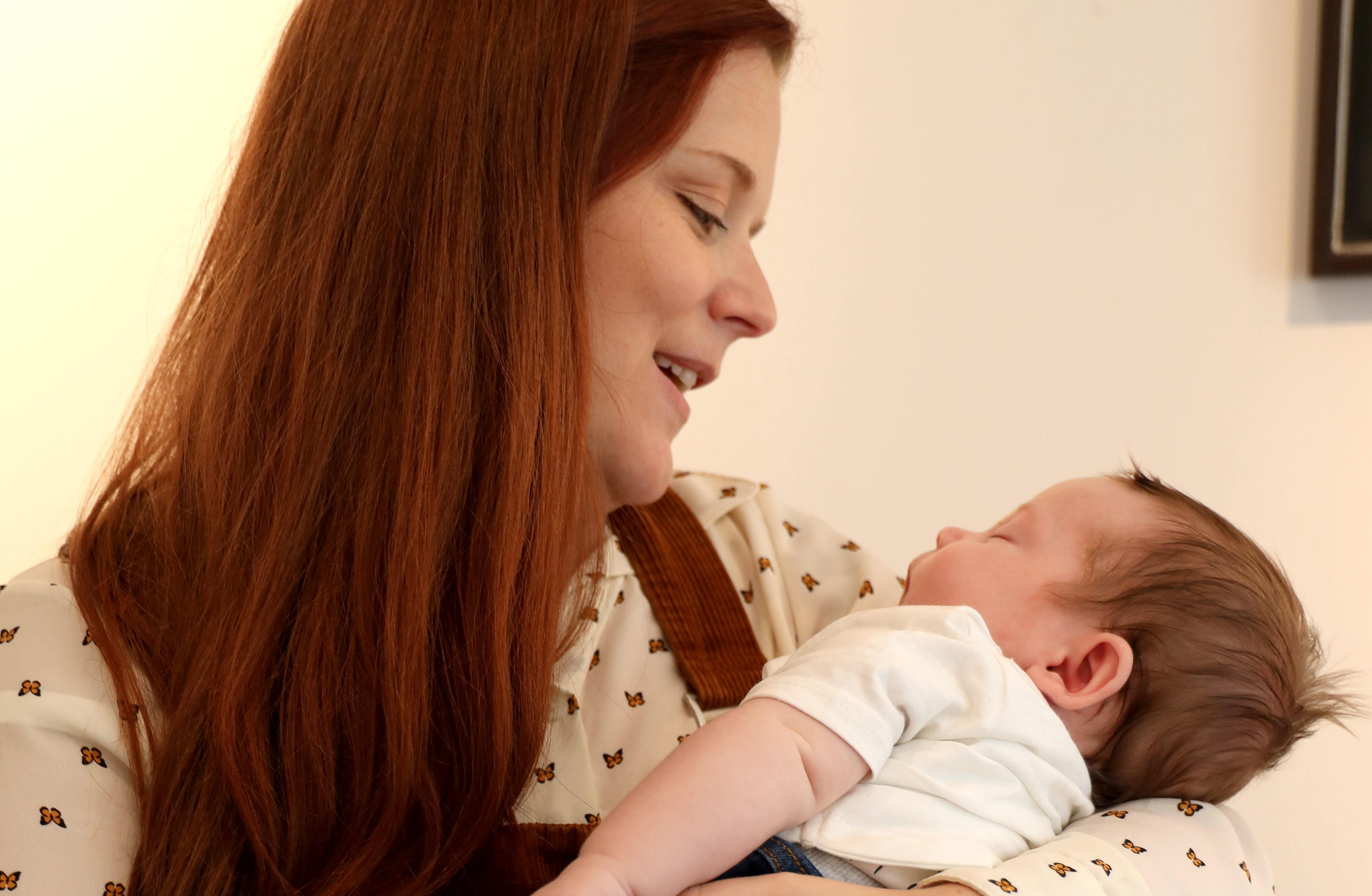 Della McGill and her son, Callum