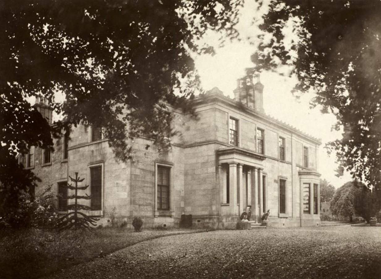 Gryffe Castle in Kilmalcolm. It was once a children's home, but is now residential flats.