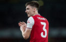 Kieran Tierney making his Arsenal debut